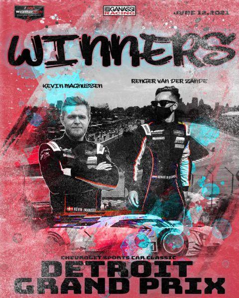 Renger_van_der_Zande_en_Kevin_Magnussen_IMSA_Detroit_winners