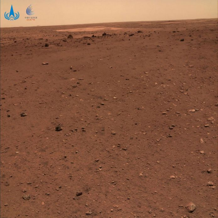 A view of Mars.