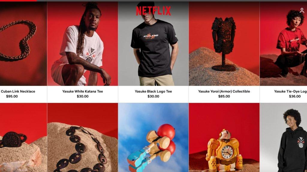 Netflix Web Store
