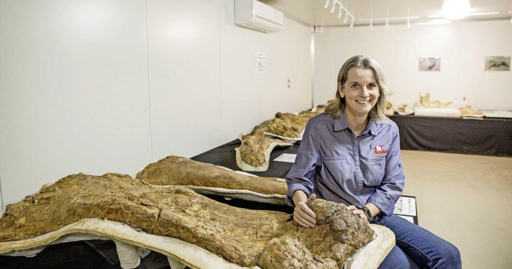 A huge titanosaur in Australia turns into a new species    Science