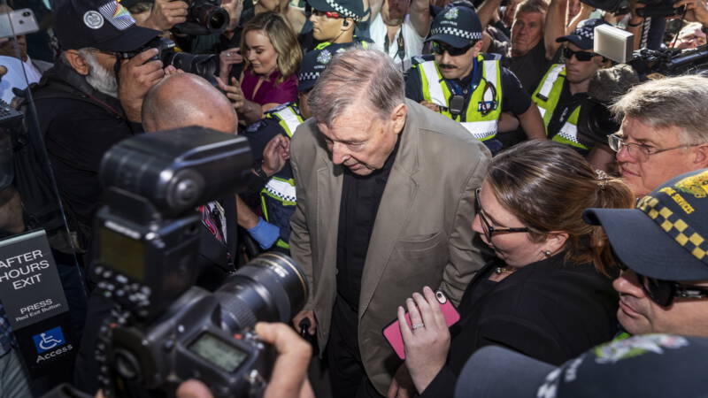 Australian media fined for reporting abuse of Cardinal Pell