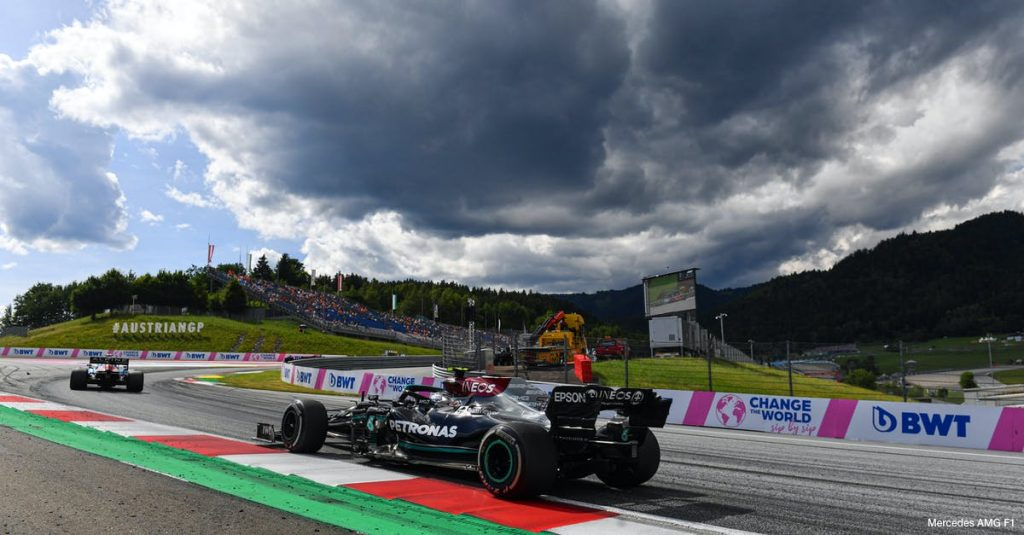 Austria GP preview    Incoming storms can create a spectacle