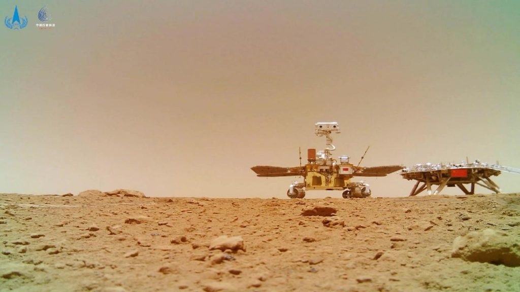 China publishes new videos and photos captured by the Mars probe Tianwen-1