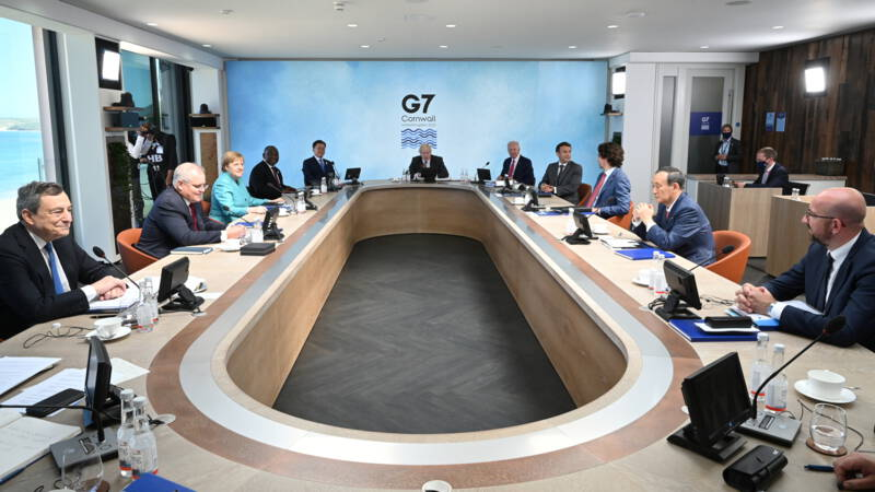 China vs. the G7: The Dictatorship of a Small Group of Countries is Over