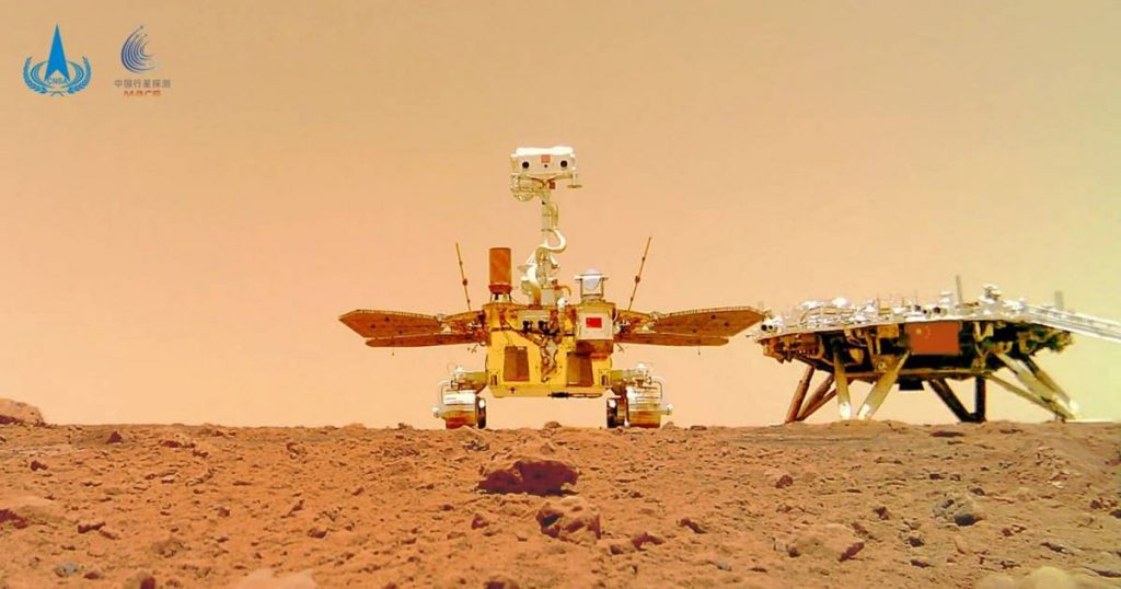 Chinese Mars rover publishes new images of a red planet, including a self-portrait    Science