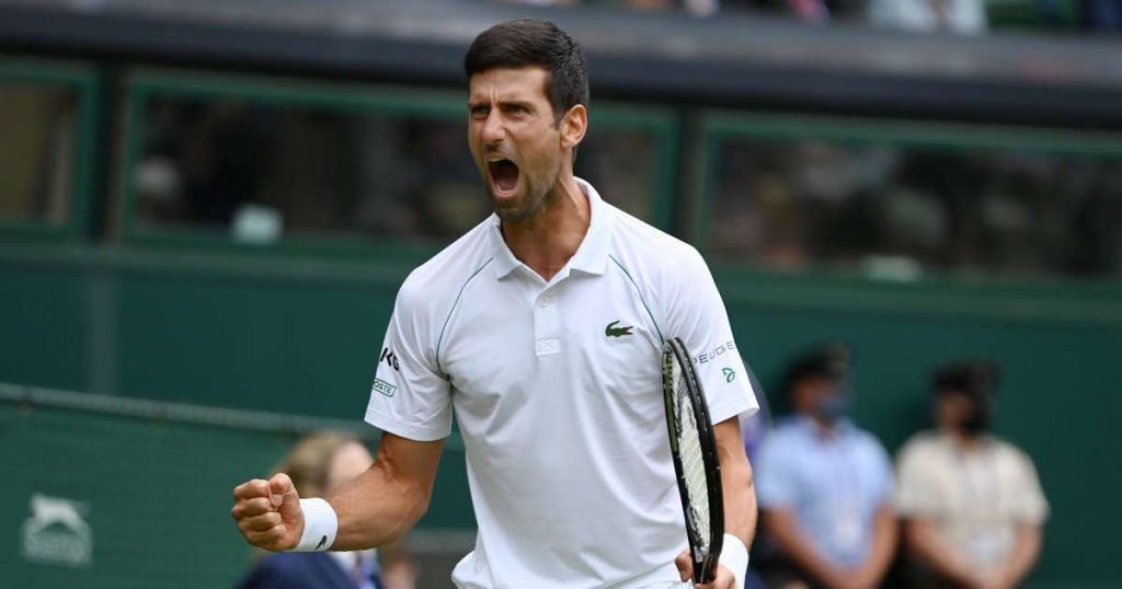 Djokovic beat Anderson at Wimbledon in a repeat of the 2018 final