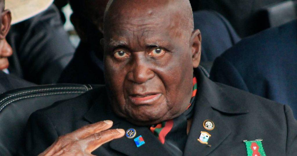 Former Zambian President Kaunda dies at 97 |  abroad