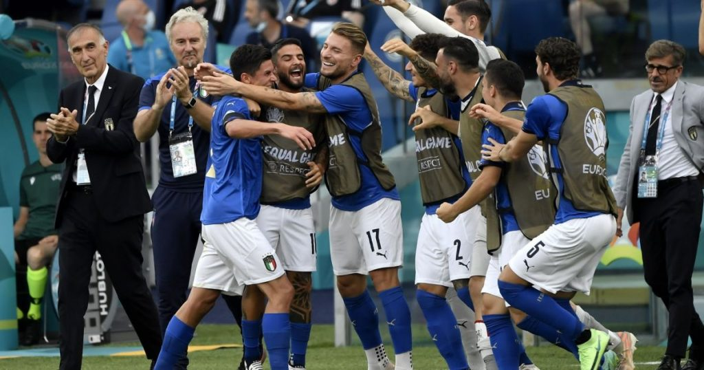 Impossible Italy with Wales to the eighth European Championship finals, and Switzerland in the waiting room