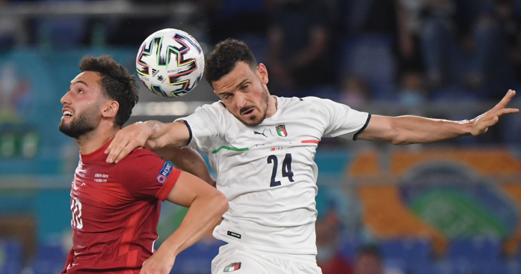 Live discussion: one change in Italy from eleven to collide with Switzerland
