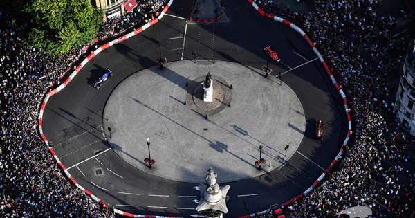 London mayor wants F1 race organized 'as soon as possible'