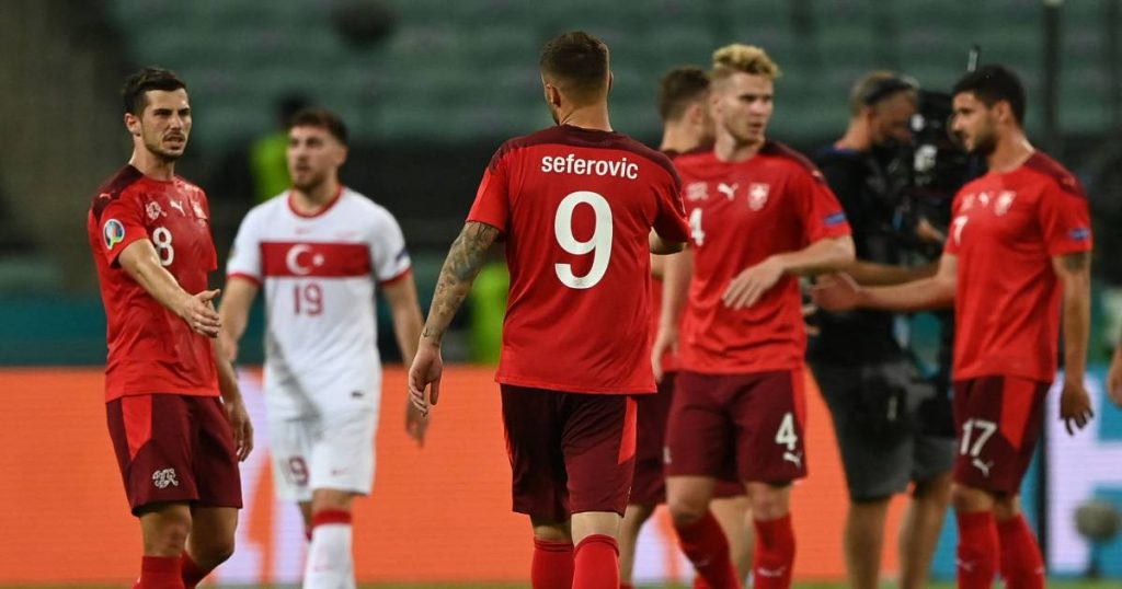 Switzerland in the waiting room after beating loser Turkey, selected Italy also beat Wales |  Euro 2020