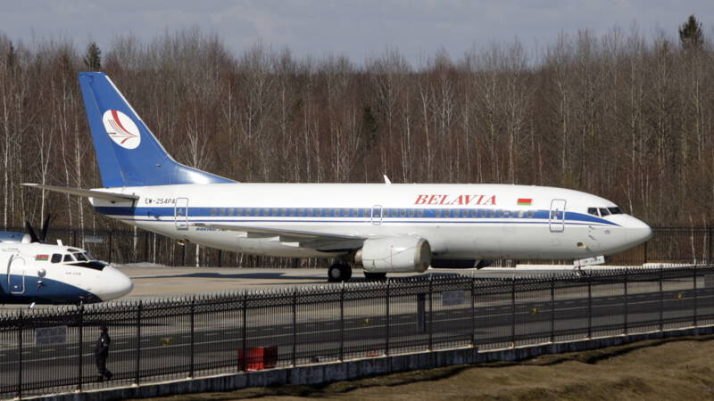 The European Union bans Belarusian aircraft from airspace and airports