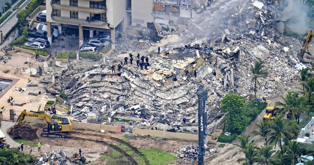 The engineer already noted the damage to a collapsed building in Florida in 2018 |  abroad
