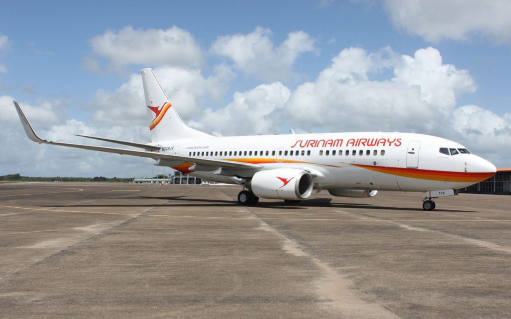 The government of Suriname is considering privatizing Suriname Airlines