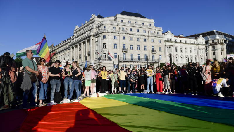 Thousands rally in Budapest against anti-LGBTI law
