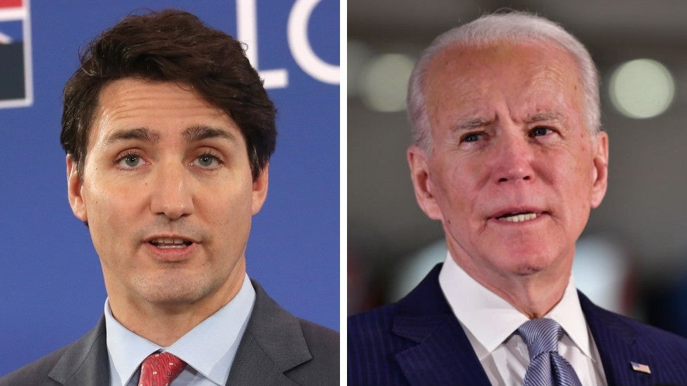 Trudeau says there is no agreement to lift border restrictions after talks with Biden