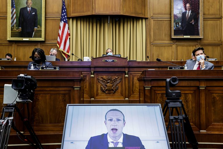 US House of Representatives want to limit the power of big tech companies