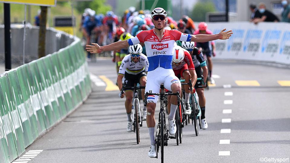 Van der Poel lands everyone in a slightly downhill race in Switzerland |  Switzerland tour 2021