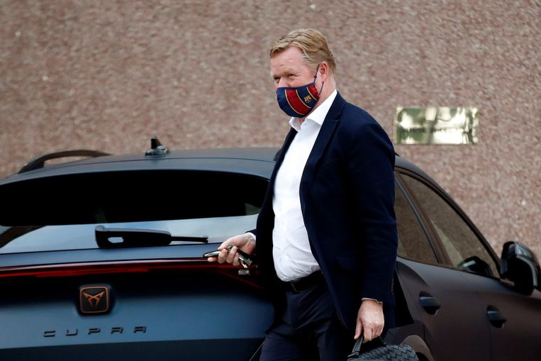 With Koeman remaining, a Dutch enclave formed near Barcelona