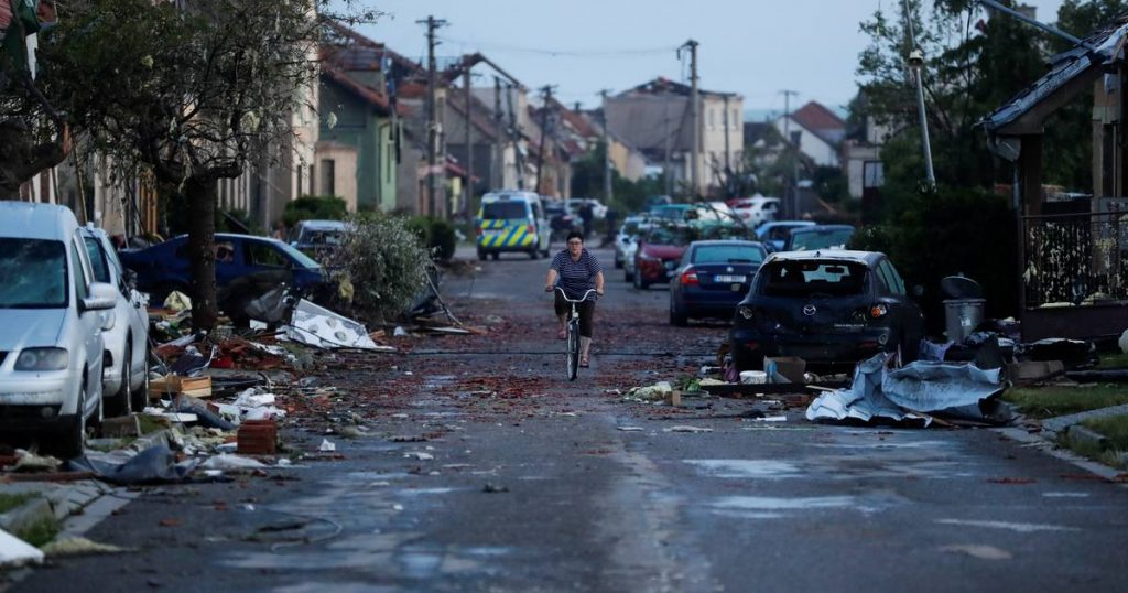 #extreme weather: a devastating hurricane in the Czech Republic    science and planet