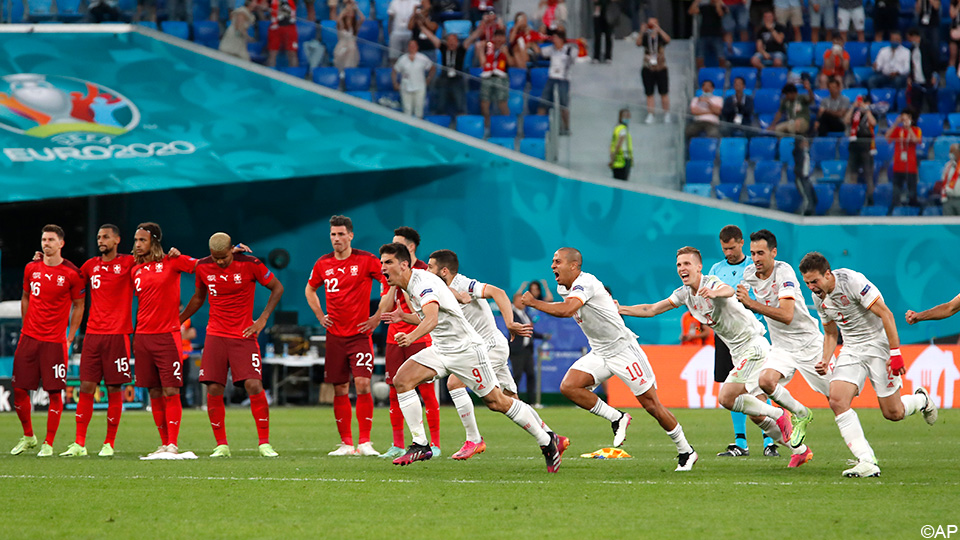 Spain tackles penalty shootout against Switzerland and reaches the semi-finals    European Championship 2020