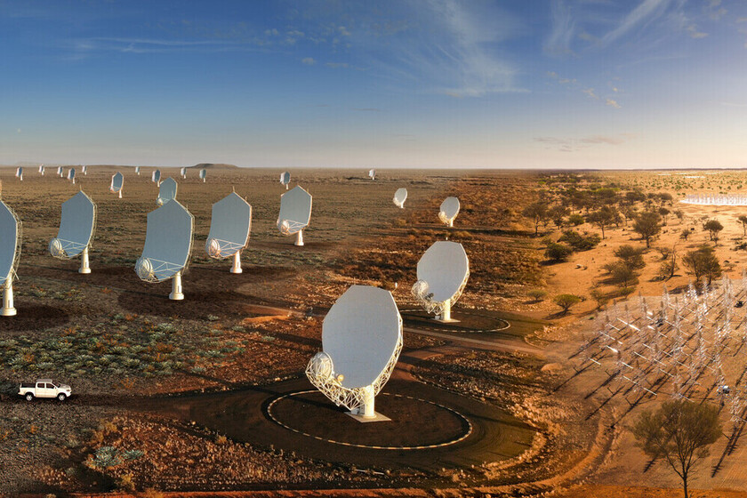 This will be the largest radio telescope network in the world