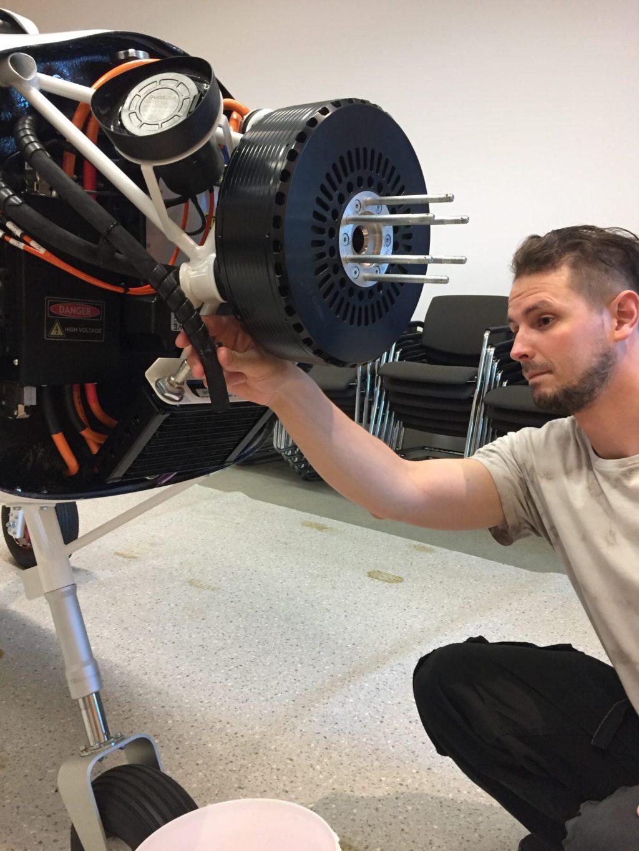 AMN may maintain electric aircraft • pilot and aircraft