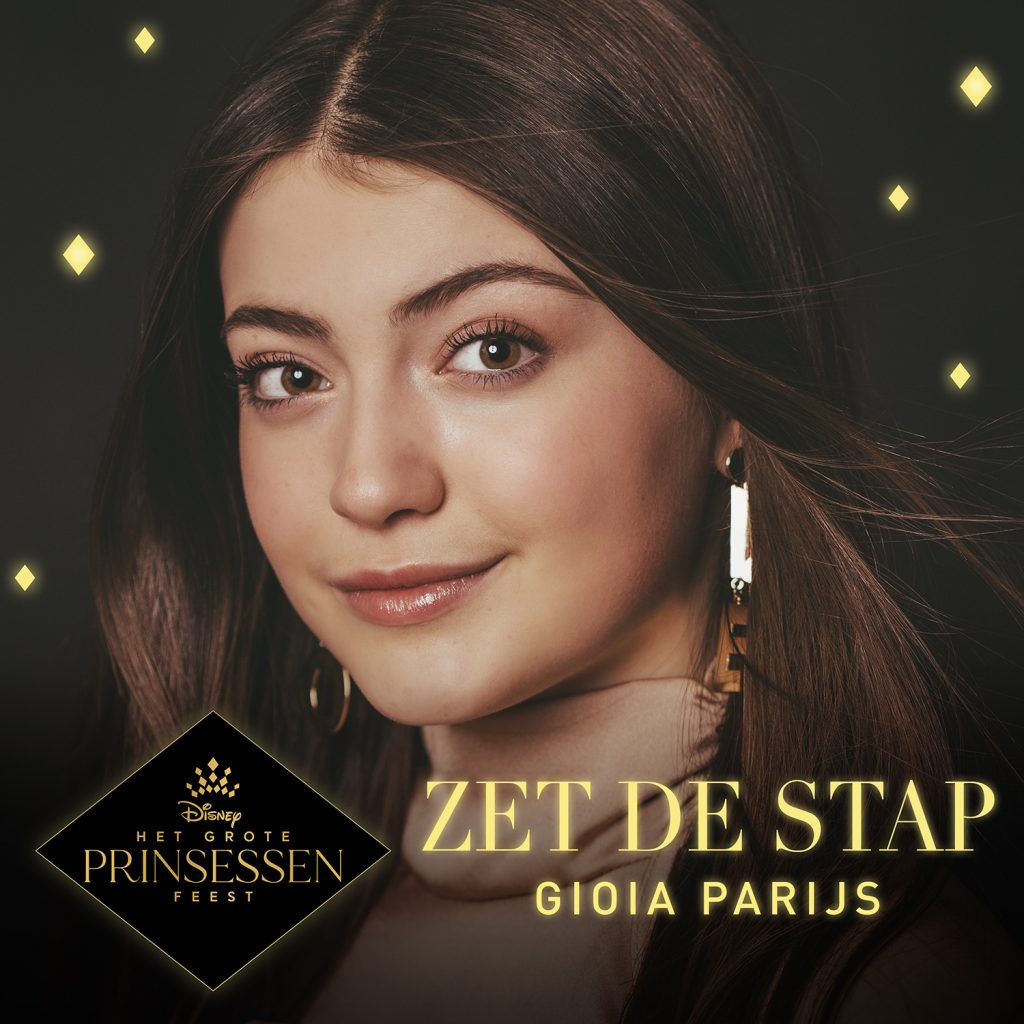 """Disney and Gioia Paris released a new song """"Zet de Stap"""" in honor of Disney princesses"""