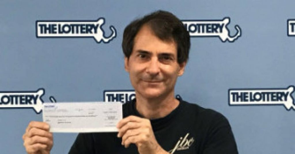 A man wins a million dollar jackpot for the second time in four years    abroad