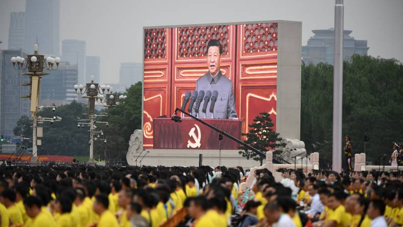 China celebrates 100th anniversary of Communist Party, Xi Jinping warns against 'bullies'