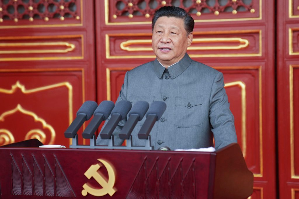 Chinese president warns bullies will face 'broken heads and bloodshed'