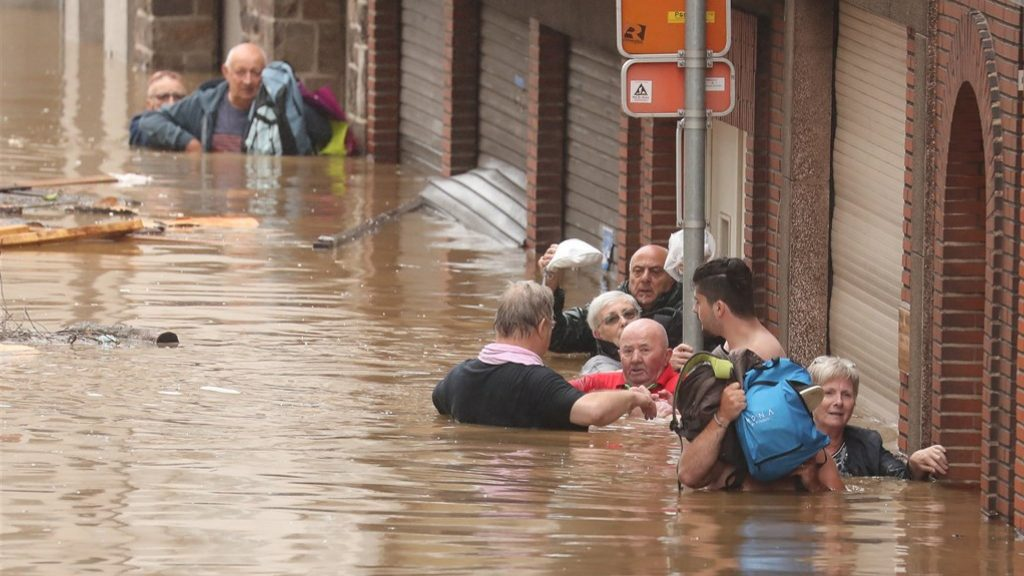 'Disastrous situation' in Belgium due to torrential rains: six dead
