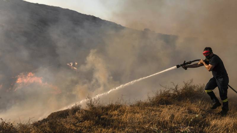 Forest fires in Cyprus: ``We fear the winds will change'