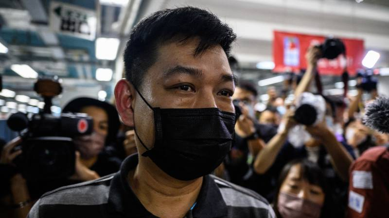 Former editor-in-chief of the Apple Daily arrested in Hong Kong