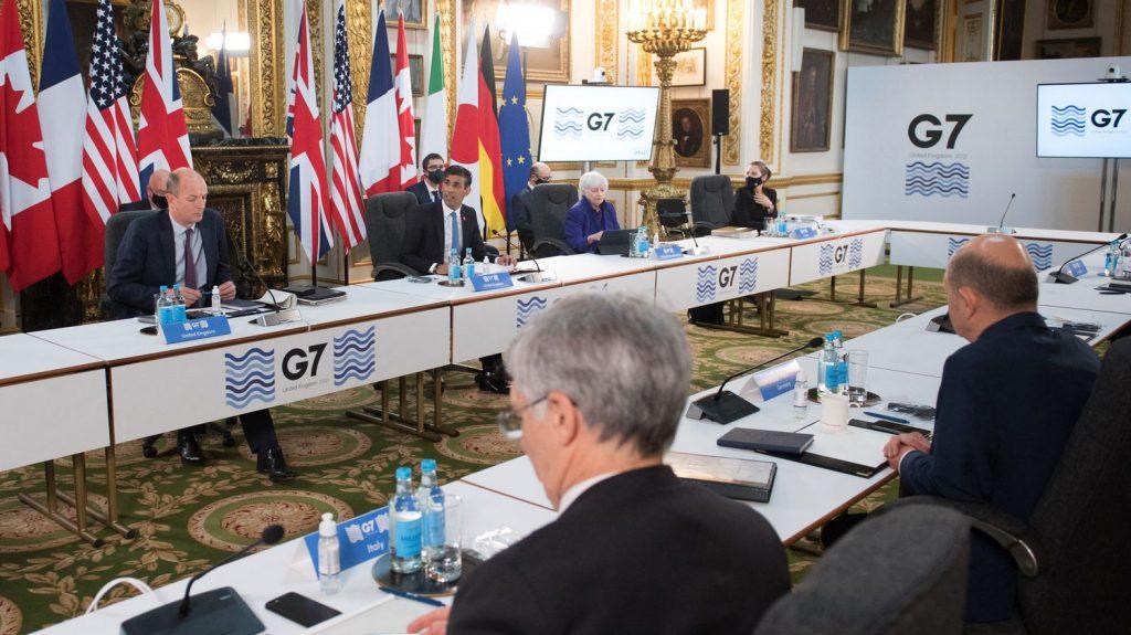 G7 votes on historic agreement on minimum corporate tax rate