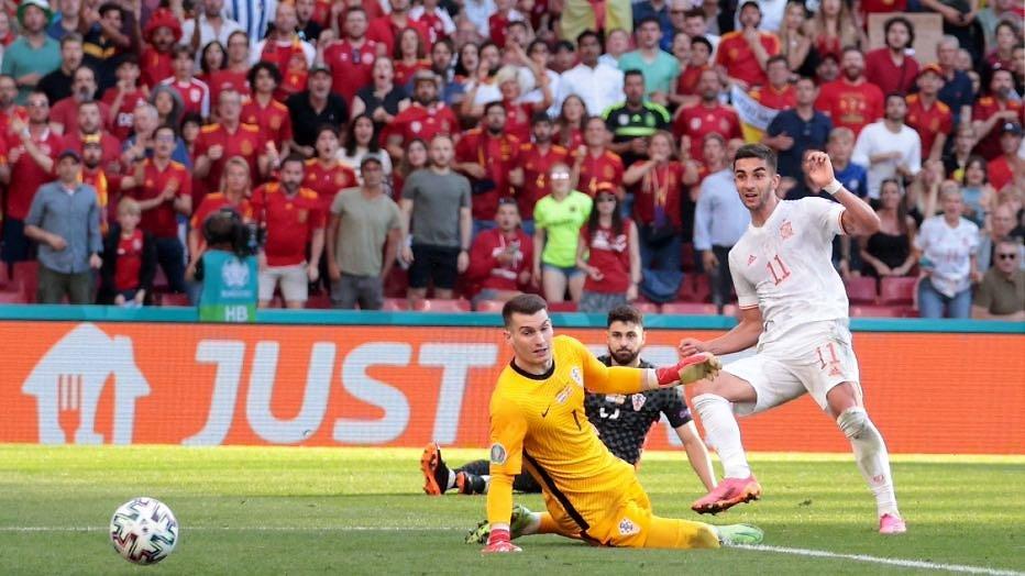 Giant killer Switzerland hits unfettered Spain