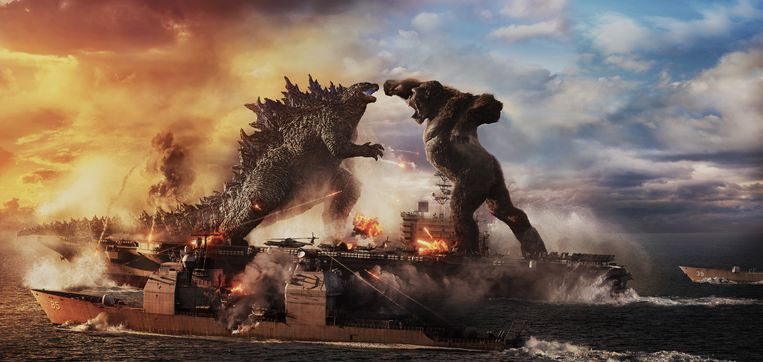 Godzilla vs.  Kong explains that the movie premieres and the streaming service are going well together