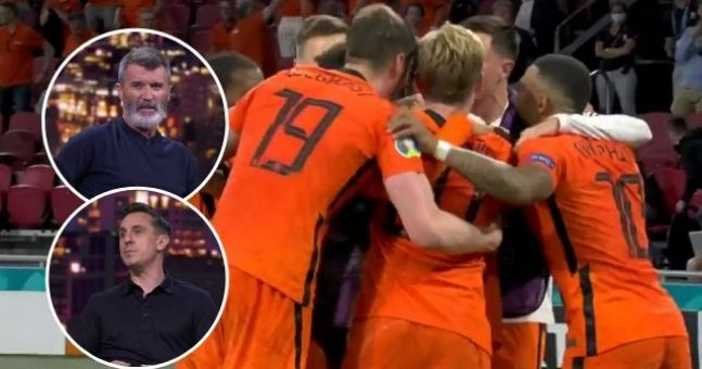 Kane and Neville won chances from Holland in the European group المجموعة