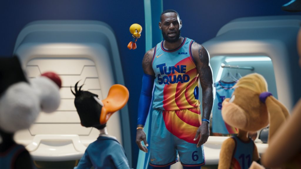 LeBron James treats Space Jam: A New Legacy haters with kindness
