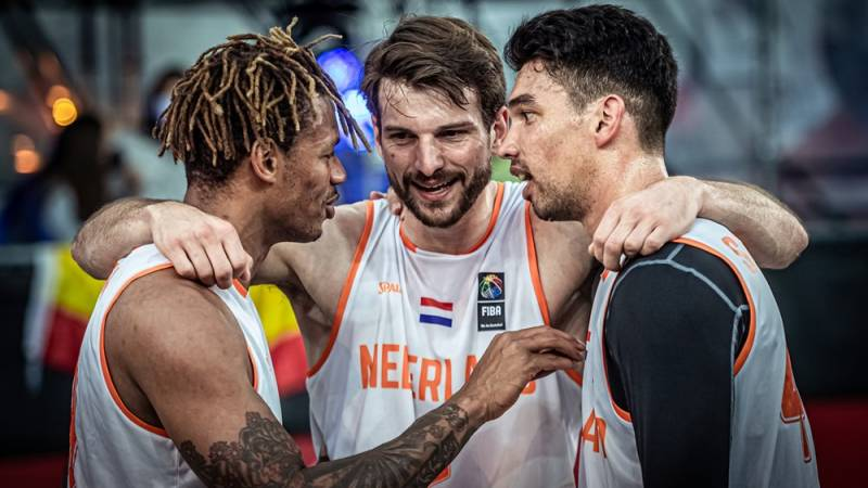 Referee Nothing divisive 3x3 basketball players: 'These are my boys'