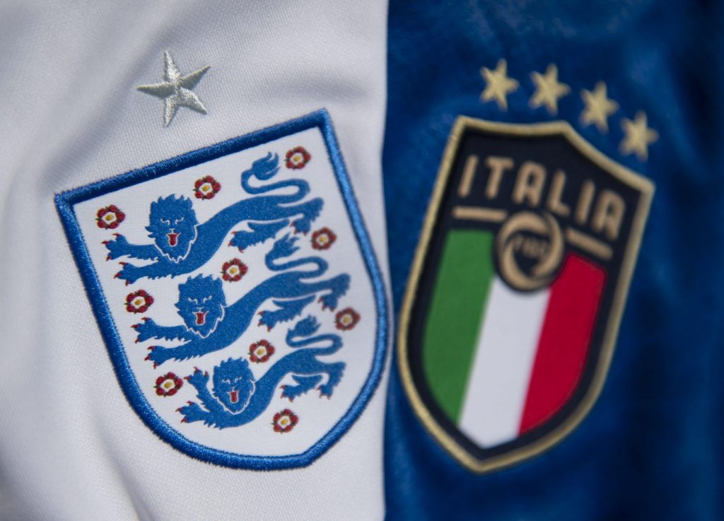 Roads leading to the final of England and Italy