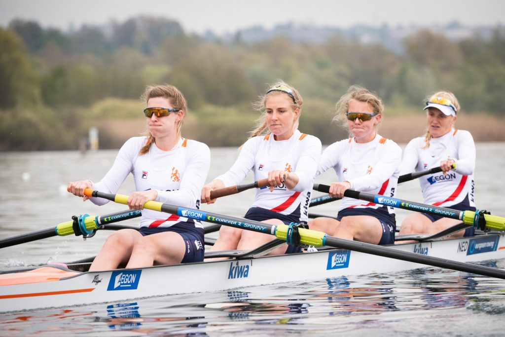 Rower Ymkje Clevering went to gold in four games without at the Tokyo Olympics
