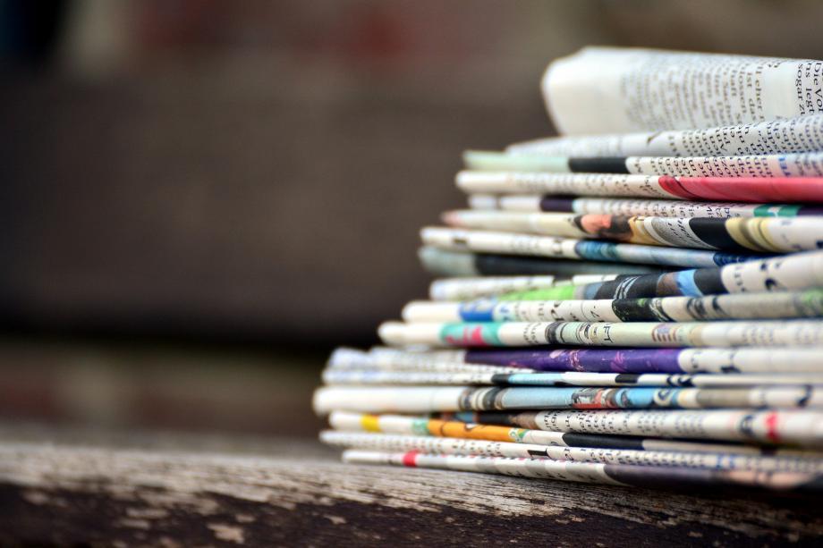 Scottish media focus and New York raises its voice صوت
