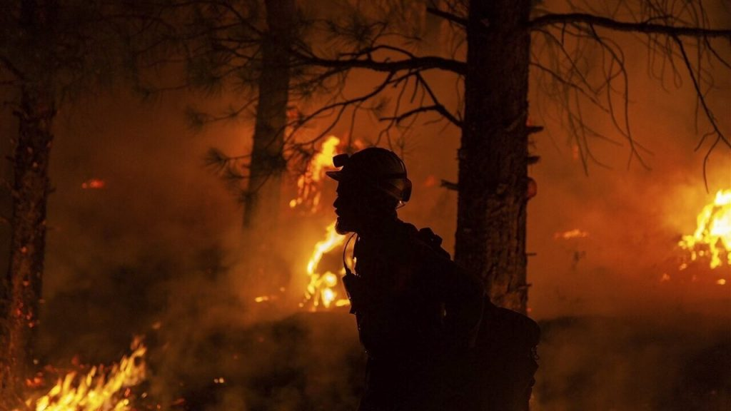 Severe US wildfires: scale rare الحجم