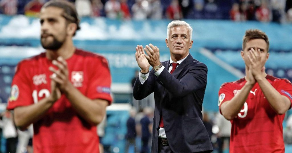 Swiss coach: Proud to come home, my players are champions |  European Football Championship