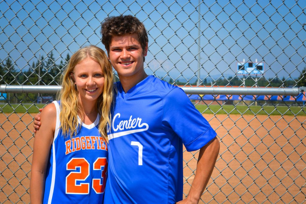 The Clark County cousins share a love of athletics