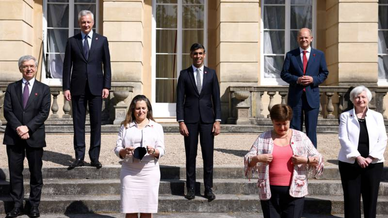 The Group of Seven (G7) wants the minimum tax rate to be 15 percent for businesses