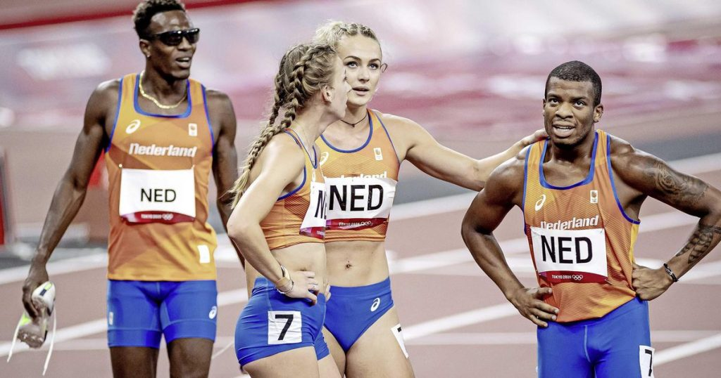 The Netherlands just misses the medal in the 4x400m mixed relay |  sports