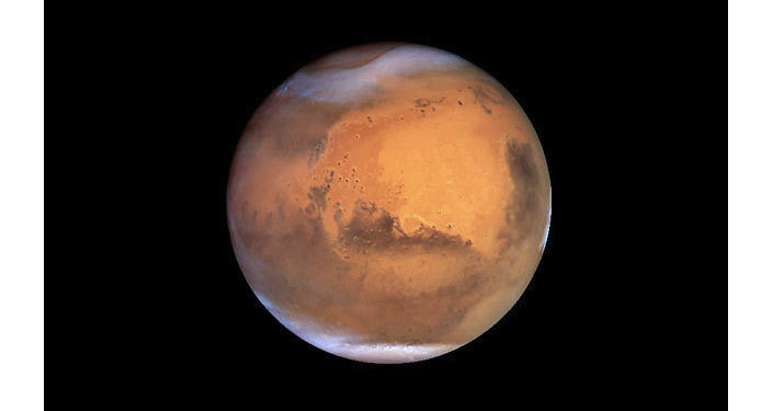 The Russian Space Agency proposes to build a nuclear power plant on Mars