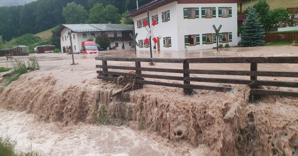 The situation in German Bavaria is 'tragic' due to heavy rains |  abroad